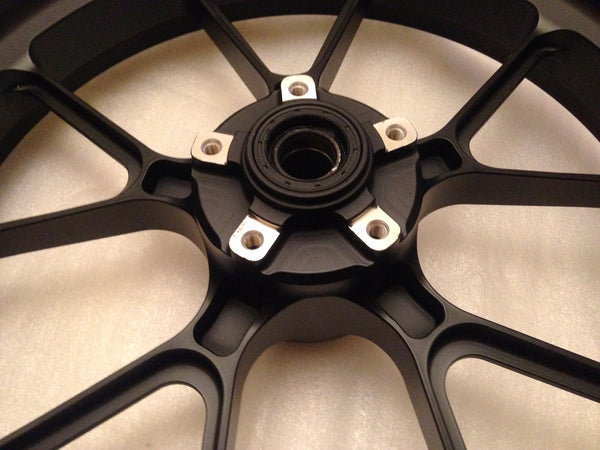 MARCHESINI FORGED ALUMINUM 10 SPOKE M10RS KOMPE WHEEL SET FOR DUCATI (FREE SHIPPING) - DennisPowerSport - 10