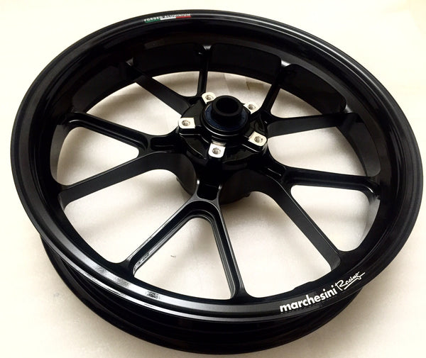 MARCHESINI FORGED ALUMINUM 10 SPOKE M10RS KOMPE WHEEL SET FOR DUCATI (FREE SHIPPING) - DennisPowerSport - 2
