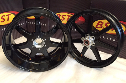 BST Carbon Fibre Wheels Ducati Diavel - DennisPowerSport - 1