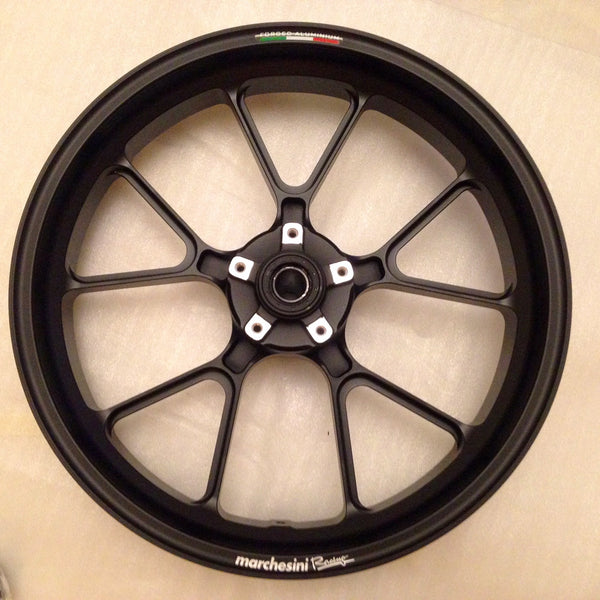 MARCHESINI FORGED ALUMINUM 10 SPOKE M10RS KOMPE WHEEL SET FOR DUCATI (FREE SHIPPING) - DennisPowerSport - 9
