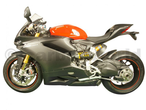 MATTE CARBON FAIRING STREET SET FOR DUCATI PANIGALE 959 1299 S BY CARBONWORLD