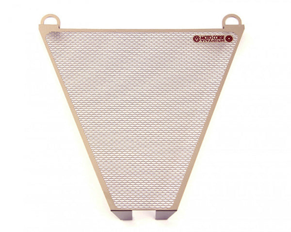 MOTOCORSE LOWER WATER RADIATOR TITANIUM PROTECTION SCREEN
