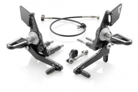 RIZOMA ADJUSTABLE REARSETS FOR DUCATI XDIAVEL S