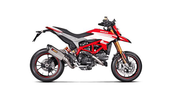 AKRAPOVIC DUCATI HYPERMOTARD 2014 Slip-On Line (Titanium)  S-D9SO8-RT