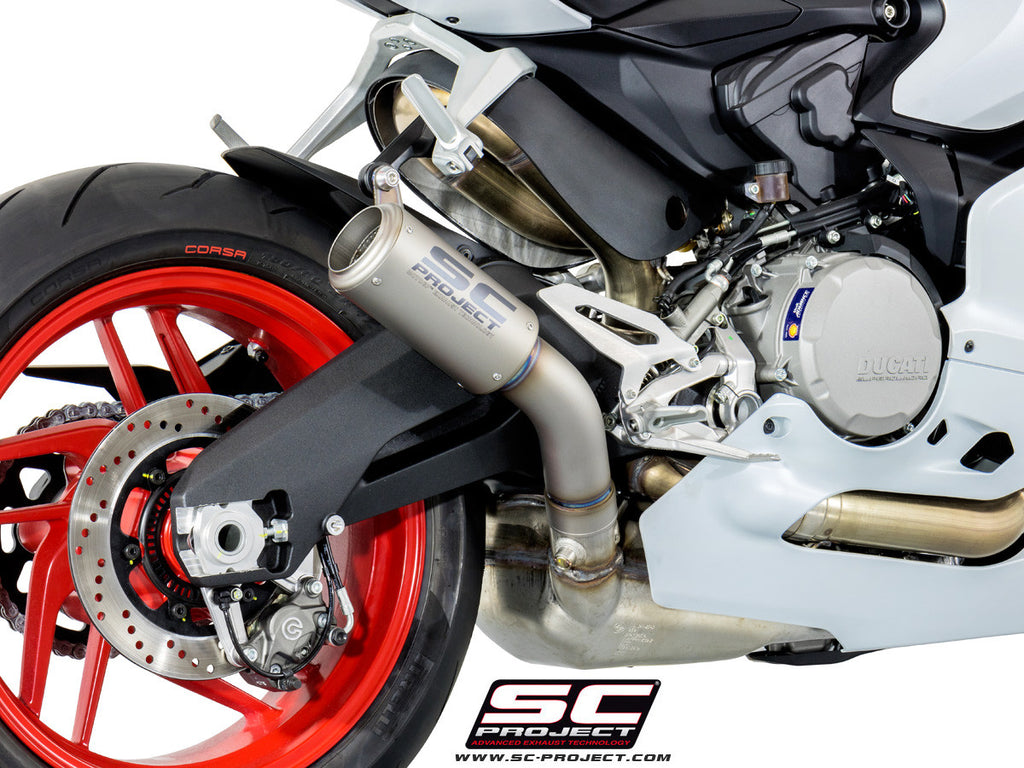 Sc Project Ducati Panigale 959 Cr T Titanium Muffler With Link Pipe Dennispowersport