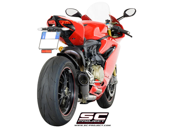 SC PROJECT DUCATI PANIGALE 1299 S1 EXHAUST WITH LINK PIPE / D22-T41T