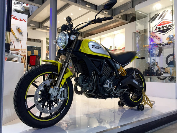OHLINS NEW FRONT FORK BLACK KIT FOR DUCATI SCRAMBLER - DennisPowerSport - 4