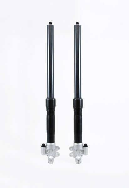 OHLINS NEW FRONT FORK BLACK KIT FOR DUCATI SCRAMBLER - DennisPowerSport - 2