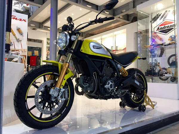 OHLINS NEW FRONT FORK GOLD KIT FOR DUCATI SCRAMBLER - DennisPowerSport - 6