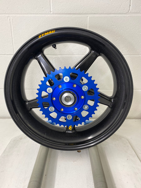 DYMAG CA5 CARBON FIBRE WHEELS DUCATI MV AGUSTA WITH SINGLESIDE SWINGARM DUAL SWINGARM