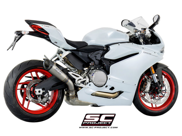 SC PROJECT DUCATI PANIGALE 959 S1 TITANIUM MUFFLER WITH LINK PIPE / D20-T41T
