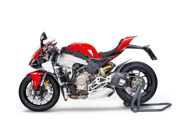 MONZATECH MWP SUPER-SMART PLUG'N'PLAY COOLING SYSTEM KIT CONTROLLED BY AN INDEPENDENT ECU: DUCATI PANIGALE V4/S