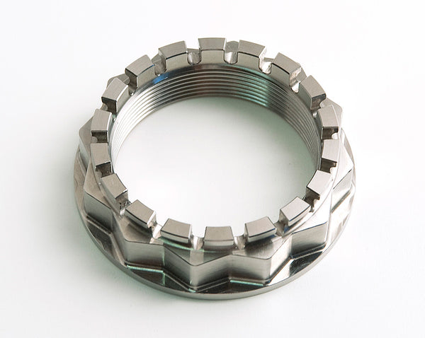 MOTOCORSE BILLET TITANIUM REAR SPROCKET AND WHEEL NUT