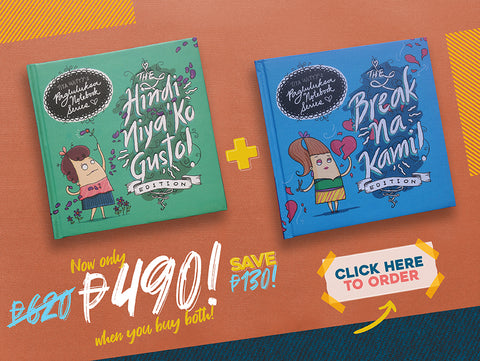 Hindi Niya 'Ko Gusto! Illustrated Notebook