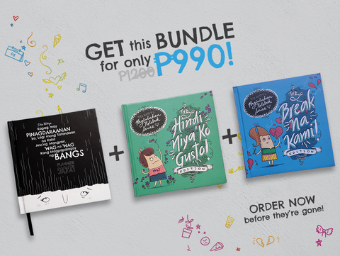 The Bangs Planner 2021 + Break na Kami! Notebook Bundle