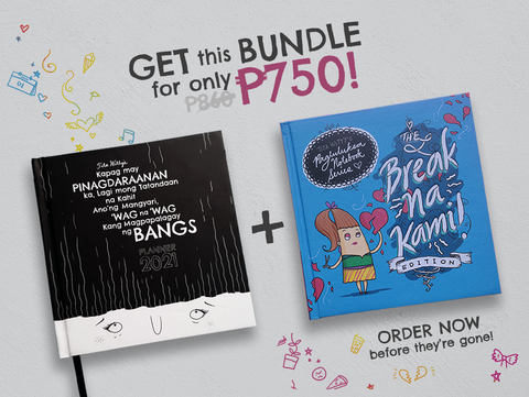 The Bangs Planner 2021 + Hindi Niya 'Ko Gusto Notebook Bundle