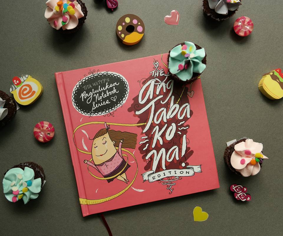 "SAMPLE SALE The ""Ang Taba Ko Na!"" Notebook"