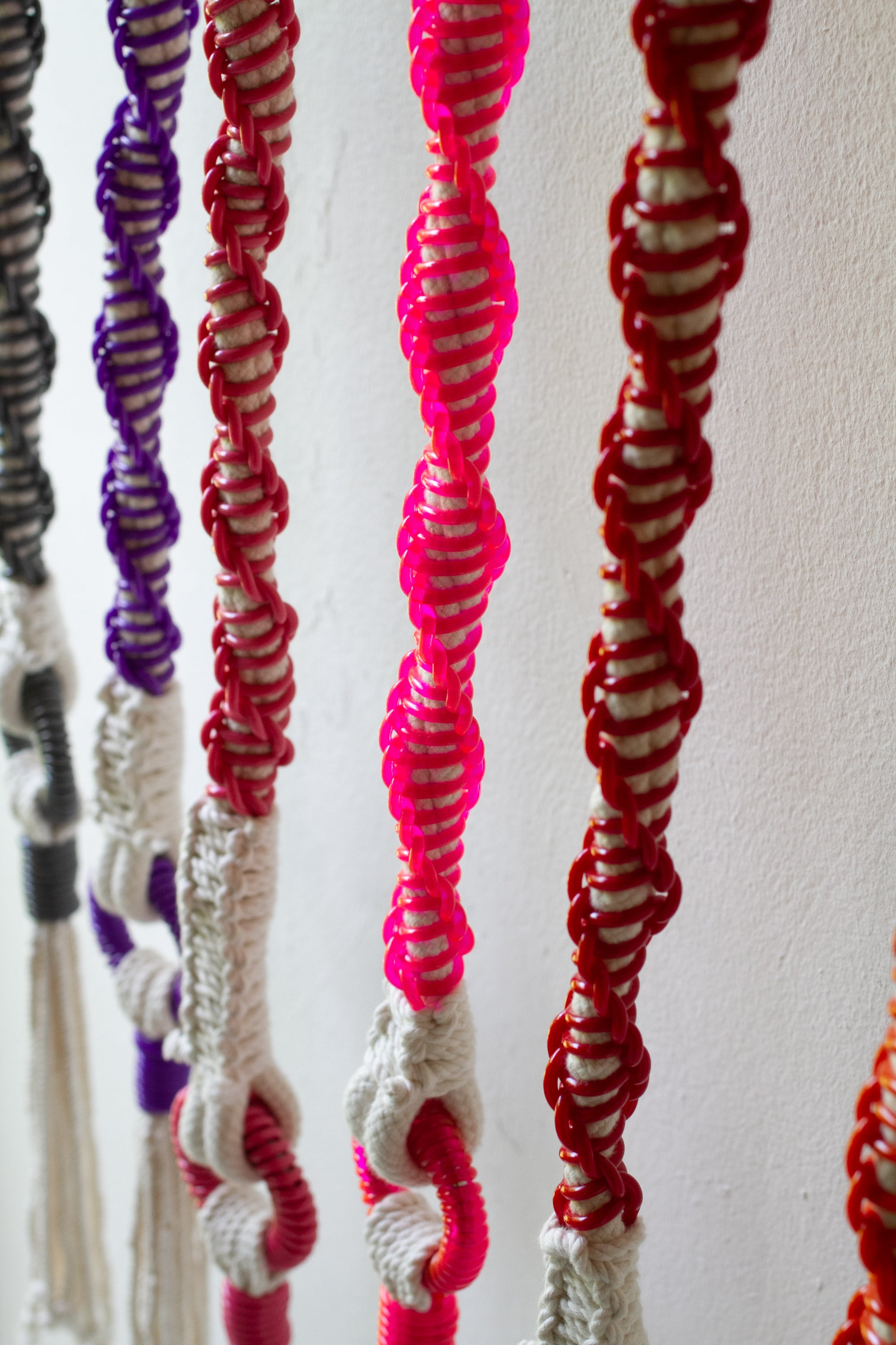 Rainbow Wallhanging-Obra Gris-Zero-Waste-Design-Costa-Rica