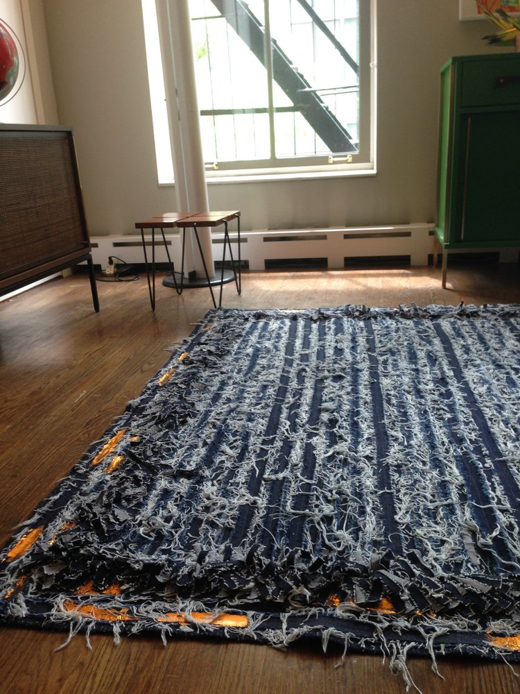 Denim Rug-Obra Gris-Zero-Waste-Design-Costa-Rica