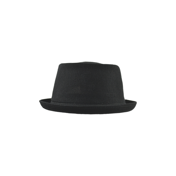 Bamboo Mowbray Pork Pie Hat - Black – UP Headwear f131388f99ee
