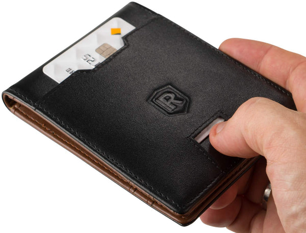 RFID Blocking Wallet Black