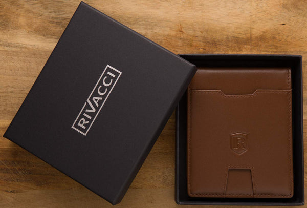 RFID Blocking Wallet Brown