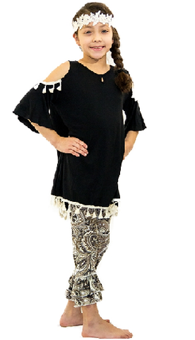 Ruffle My Leggings - It's A Cowgirl Thing Boutique