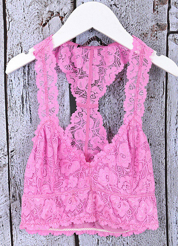 Cherry Blossom Lace Bralette - It's A Cowgirl Thing Boutique