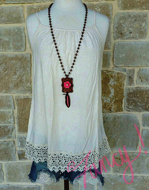 It's All About You Crochet Tank - It's A Cowgirl Thing Boutique