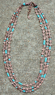 Giddy Up Copper Cross Necklace - It's A Cowgirl Thing Boutique