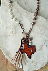 Turquoise Junkie Giddy Up Texas Necklace