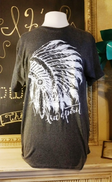 Free Spirit Indian Tee - It's A Cowgirl Thing Boutique