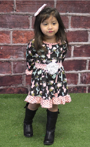 Kids Cactus Dress