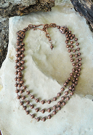 Makin' Dust Copper Necklace