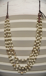 Tell Her About It Pearl Necklace - It's A Cowgirl Thing Boutique