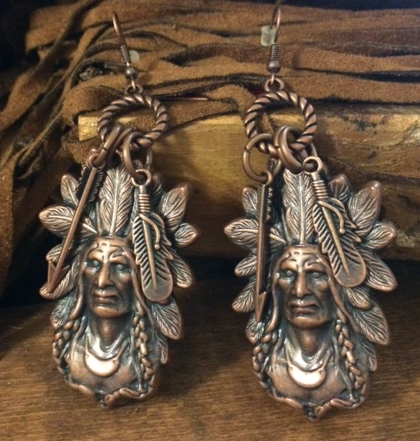 Arizona Tribal Earrings - It's A Cowgirl Thing Boutique