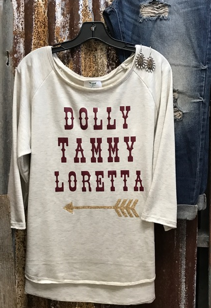 Dolly Tammy Loretta Vintage Sweatshirt