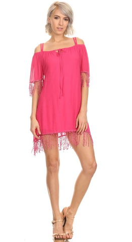 Cruise Ship Dancing Tunic Dress - It's A Cowgirl Thing Boutique