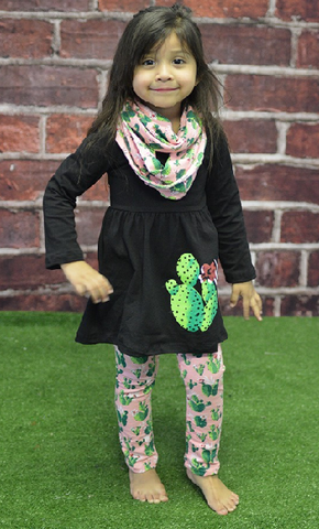 Kids Cactus Outfit