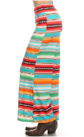 Allen Serape Palazzo Pants - It's A Cowgirl Thing Boutique