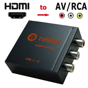 Can the hdmi to AV converter improve my video quality?