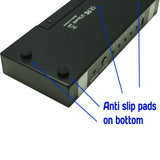 5-Port HDMI Switch 5x1 FullHD 1080P 3D with Remote