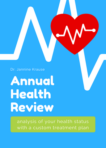 Annual Health Review – analysis of your health status with a custom treatment plan