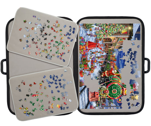 Portapuzzle Deluxe - Jigsaw Storage for 1000 piece puzzles - All Jigsaw Puzzles
