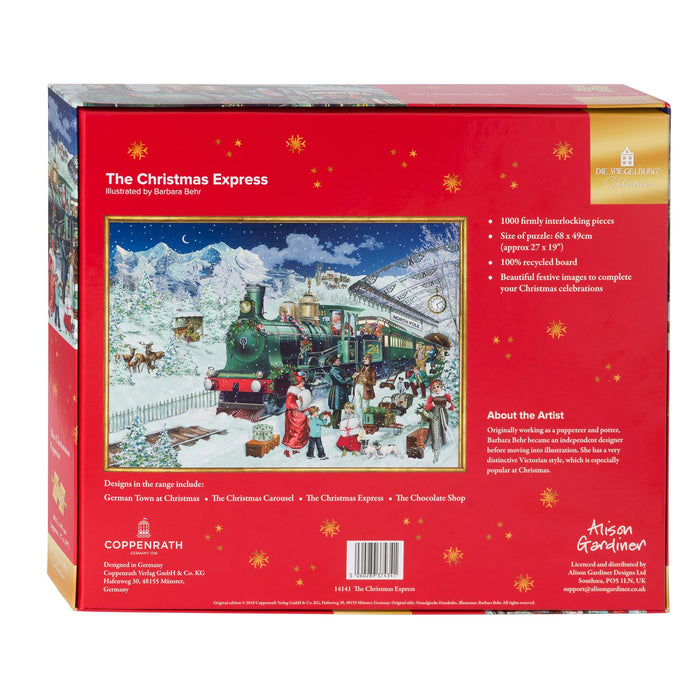 The Christmas Express - Coppenrath 1000 Piece Jigsaw Puzzle back