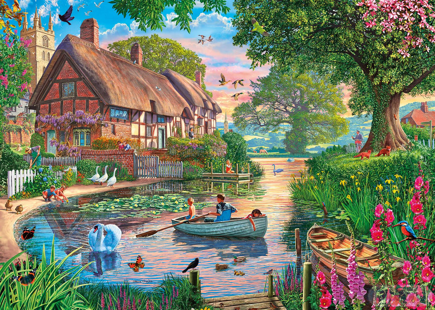 Golden Hour 1000 Piece Jigsaw Puzzle