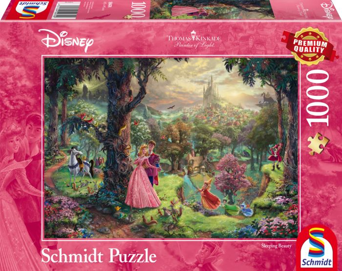 Thomas Kinkade - Disney Sleeping Beauty 1000 Pieces - All Jigsaw Puzzles