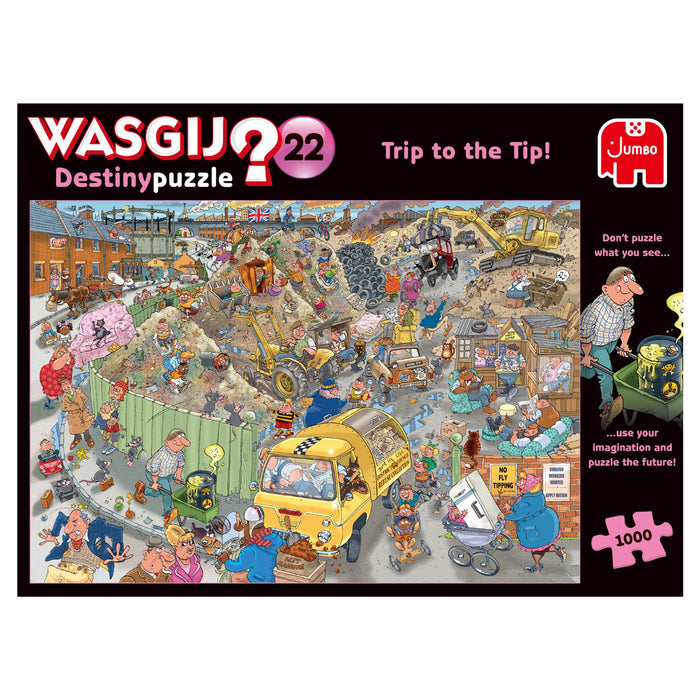 Wasgij Destiny 22 A Trip to the Tip! 1000 Piece Jigsaw Puzzle 1