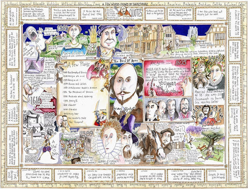 The Bard - Tim Bulmer 1000 Piece Jigsaw Puzzle - All Jigsaw Puzzles