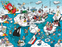 Chaos at the North Pole 1000 or 500 Piece Jigsaw Puzzle - All Jigsaw Puzzles